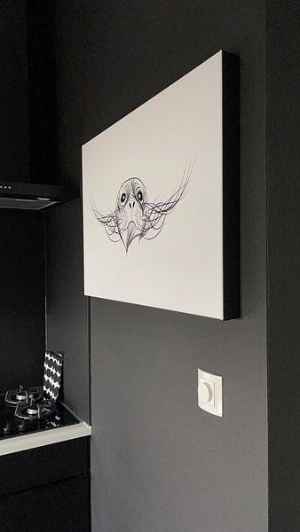 Kundenfoto: Plakat-Illustration Siegel Terschelling von Studio Tosca