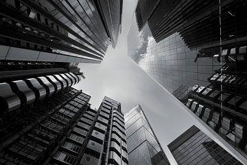 Wolkenkrabbers in Londen van Patrick Lohmüller