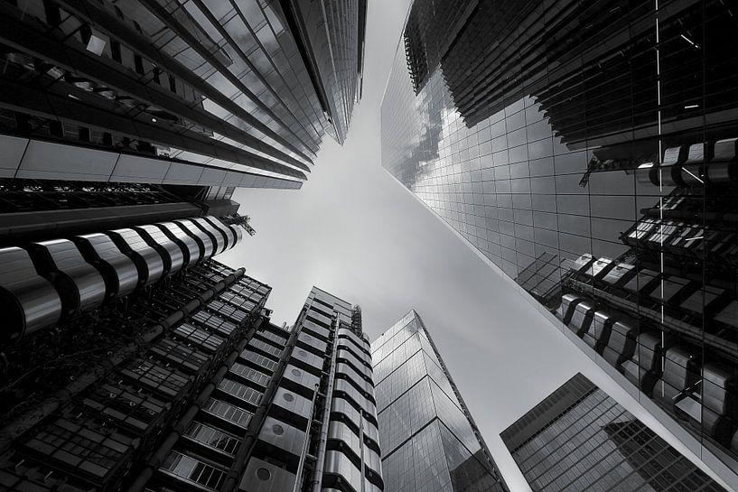 Les gratte-ciel de Londres sur Patrick Lohmüller