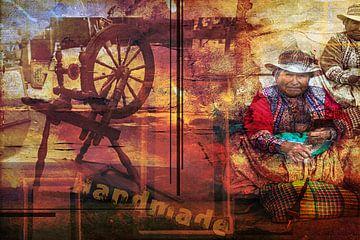 L'artisanat traditionnel, l'Amérique du Sud sur Rietje Bulthuis