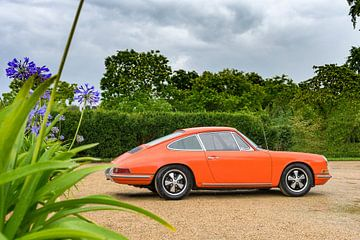 Porsche 911 Carrera klassieke sportwagen van