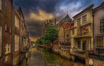De grote kerk, Dordrecht sur Rob Bout