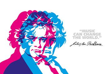 Citation de Ludwig van Beethoven sur Harry Hadders