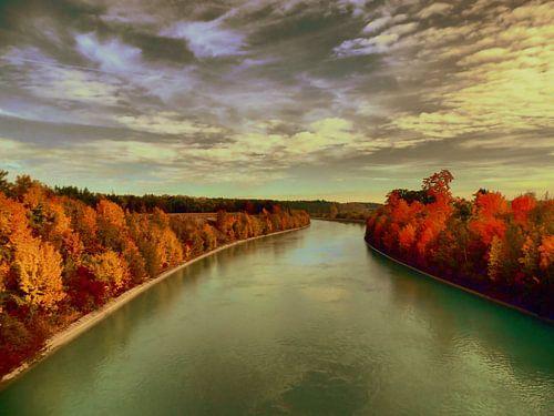 Flußufer von
