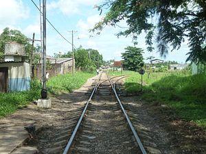 Treinspoor Santa Clara
