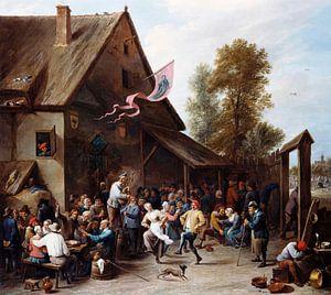 Kermis am St. Georgstag, David Teniers II