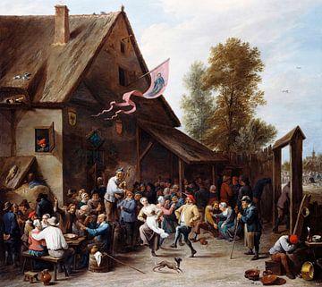 Kermis le jour de la Saint Georges, David Teniers II