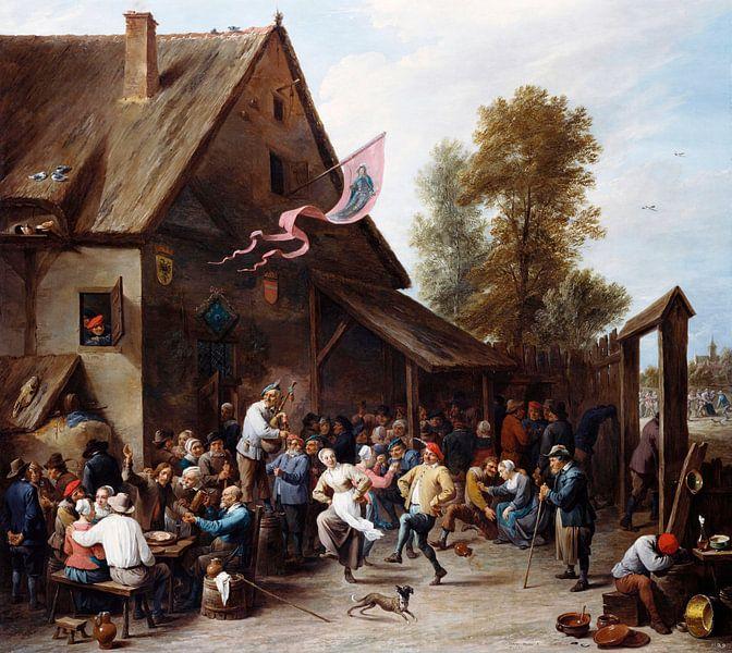 Kermis am St. Georgstag, David Teniers II von Meesterlijcke Meesters