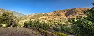 Rifgebergte in Marokko, Panorama van
