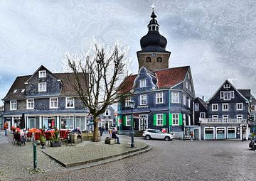 Remscheid Stadtbild van Edgar Schermaul