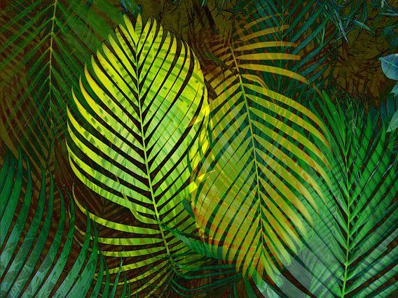 TROPICAL GREENERY LEAVES  van Pia Schneider