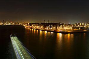 December in Rotterdam Willemsbrug van