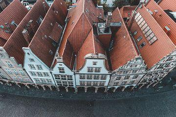 Prinzipalmarkt Münster von Oben von Steffen Peters