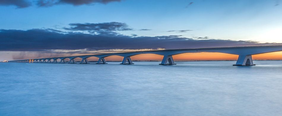 Zeelandbrug zonsopkomst