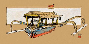 Gili-Insel Indonesien von Pieter Hogenbirk