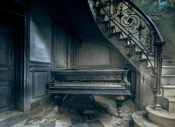 The piano van Olivier Van Cauwelaert