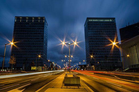 Luxemburg by night van Photography by Karim