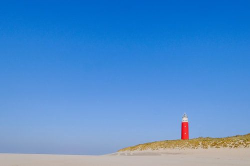 Vuurtoren op Texel Noord Holland, Netherlands van Martin Stevens