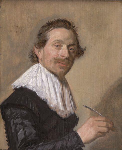 Porträt von Jean de la Chambre, Frans Hals von Meesterlijcke Meesters