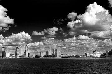 Rotterdam vom Wasser aus fotografiert von Thomas van der Willik