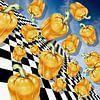 Flying Peppers van Marja van den Hurk thumbnail
