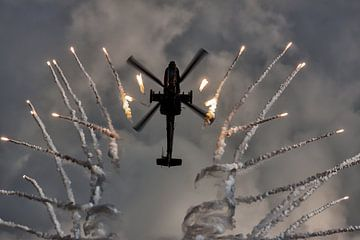 Exploding sky van