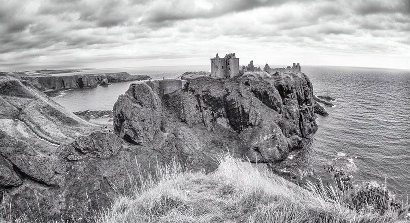 Donnottar Castle, Stonehaven, Schotland van Jan Enthoven Fotografie