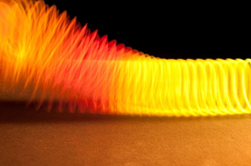 Gekleurde veer van Ruud Ravensbergen