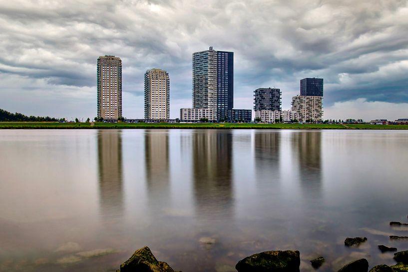 Skyline Spijkenisse von Marjolein van Middelkoop