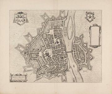 Karte von Maastricht von 1652