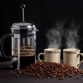 L'heure du café sur Ton de Koning