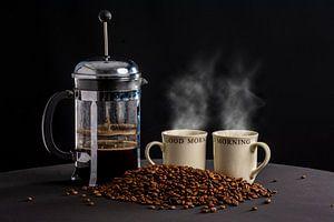 Koffietijd van Ton de Koning