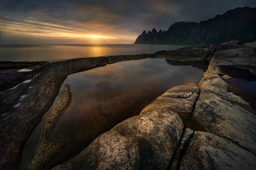 Tungeneset sunset van Wojciech Kruczynski