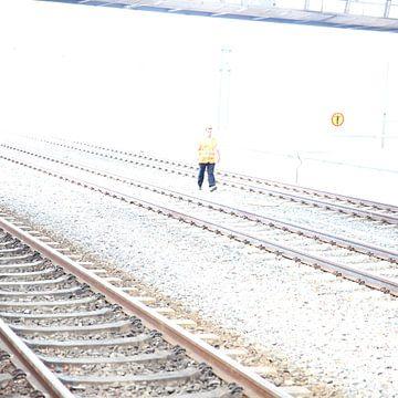Man op rails van Heike Hultsch