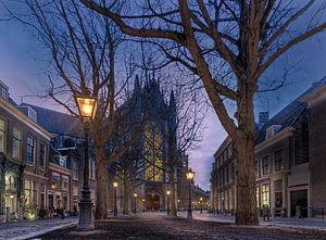 Hooglandse Kerkgracht Leiden van