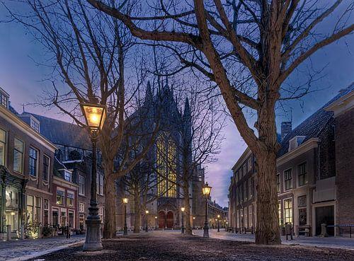 Hooglandse Kerkgracht Leiden van Machiel Koolhaas