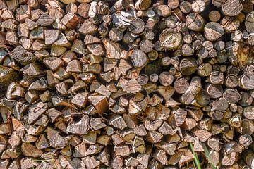 Pile de bois sur Thomas Heitz