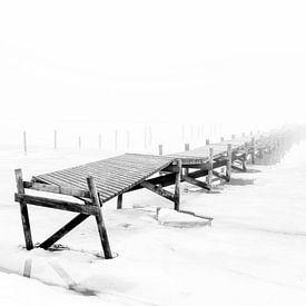 Steg und Meer von Heiko Westphalen