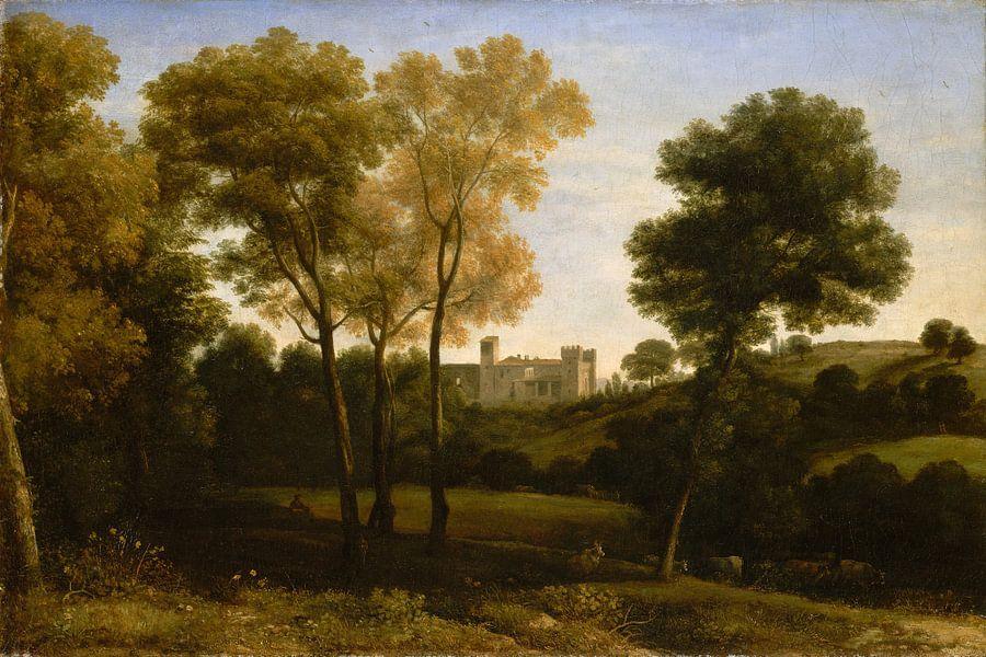 Uitzicht op La Crescenza, Claude Lorrain van Meesterlijcke Meesters