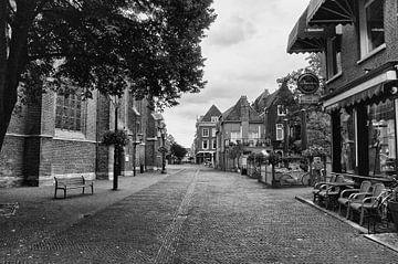 Ouwe Jan, Delft,  zwart en wit... van Nico van der Hout