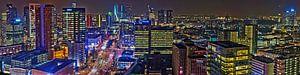 Rotterdam Centrum Nachtpanorama