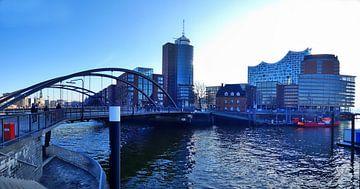 Hafencitypanorama 1 von Edgar Schermaul