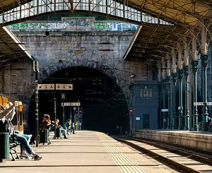 Porto Station van Derrick Kazemier