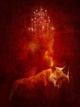 Der süße böse Wolf von Mirso Bajramovic