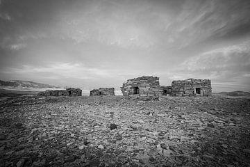 Die Gebäude von Nawamis in der Sinai-Wüste in Ägypten von Marjan Schmit Visser