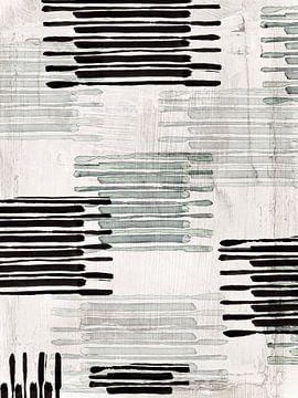 Verbunden mit Silber II, Eva Watts  von PI Creative Art