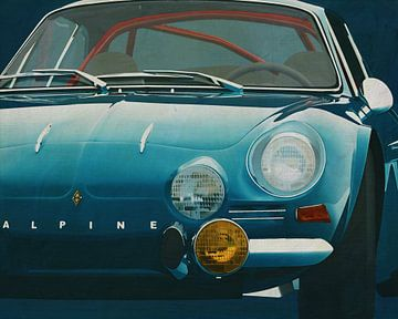 Renault Alpine 1600-S 1973 von Jan Keteleer