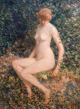 Childe Hassam, Der Schmetterling, 1902