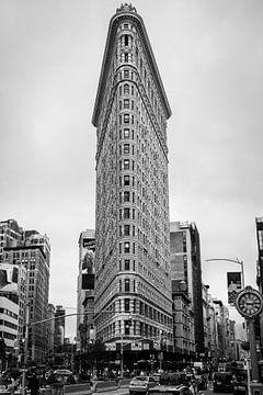 Flatiron Building, New York van Vincent de Moor