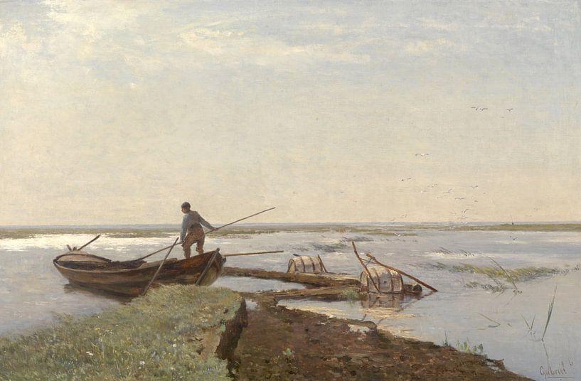 Polderlandschaft im Kamperpolder, Paul Joseph Constantin Gabriël von Meesterlijcke Meesters